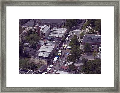 Chhgf Top Of The Hill 2 Framed Print by Duncan Pearson