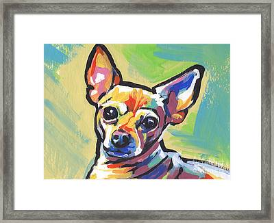 Chi Chi Cha Framed Print by Lea S