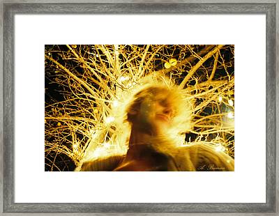 Framed Print featuring the photograph C'hi Energy  by Angelique Bowman