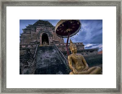 Chiang Mai Buddha Framed Print