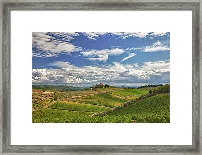 Chianti Afternoon Framed Print by Eggers   Photography