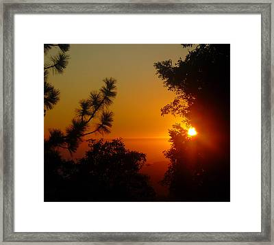 Framed Print featuring the photograph Chiaronaturo V by Kristen R Kennedy
