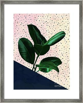 Chic Jungle Framed Print
