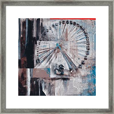 Chicago 211 2 Framed Print by Mawra Tahreem