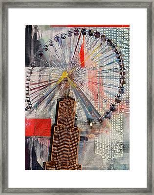 Chicago 211 3 Framed Print by Mawra Tahreem