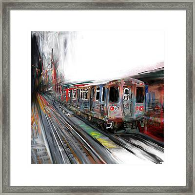 Chicago 212 2 Framed Print