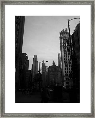 Chicago 4 Framed Print