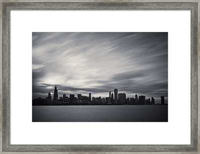 Chicago Framed Print by Adam Romanowicz