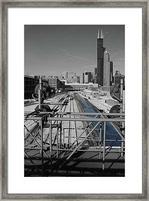 Chicago Amtrak Framed Print