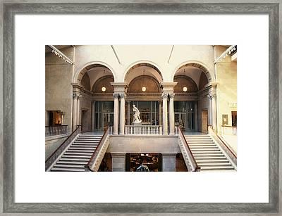 Chicago Art Institute Staircase 02 Framed Print