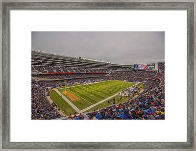 Chicago Bears Soldier Field 7785 Framed Print by David Haskett