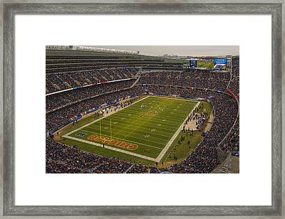 Chicago Bears Soldier Field 7795 Framed Print