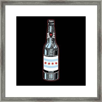 Chicago Beer Framed Print