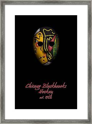 Chicago Blackhawks Established Framed Print