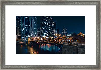 Chicago Blue II Framed Print