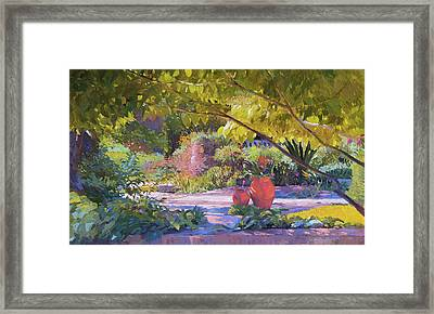 Chicago Botanic Garden Framed Print