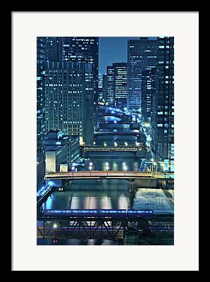 Chicago Illinois Framed Prints