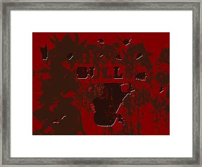 Chicago Bulls 1b Framed Print by Brian Reaves