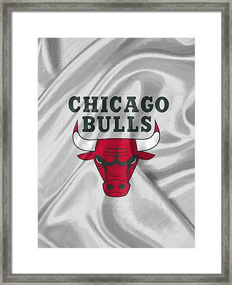 Chicago Bulls Framed Print by Afterdarkness