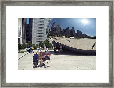 Chicago Framed Print by Charles  Ridgway