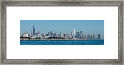 Chicago City Skyline Framed Print by Paul Freidlund