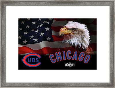 Chicago Cubs Champions 2016 Framed Print