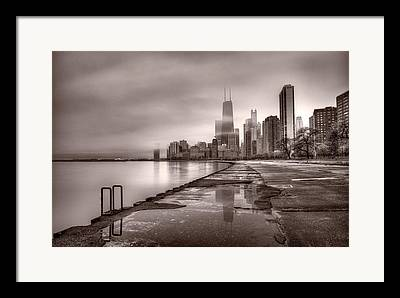 Chicago Building Framed Prints