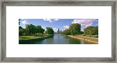 Chicago From Lincoln Park, Illinois Framed Print