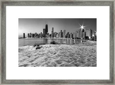 Chicago From North Beach Framed Print by Twenty Two North Photography