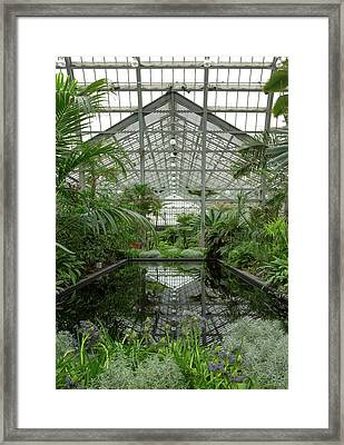 Chicago - Garfield Park Conservatory Framed Print