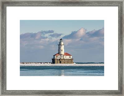 Chicago Harbor Lighthouse Framed Print