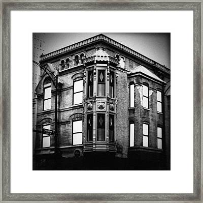 Chicago Historic Corner Framed Print
