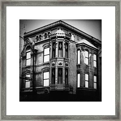 Chicago Historic Corner Framed Print