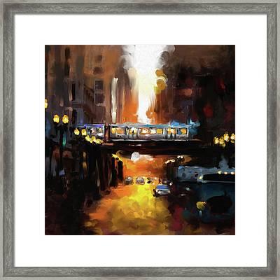 Chicago II 474 1 Framed Print