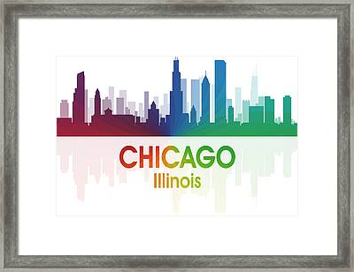 Chicago Il Framed Print by Angelina Vick