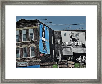 Chicago Life Framed Print by Todd Sherlock