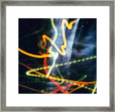 Chicago Lights 2 Framed Print by JC Armbruster