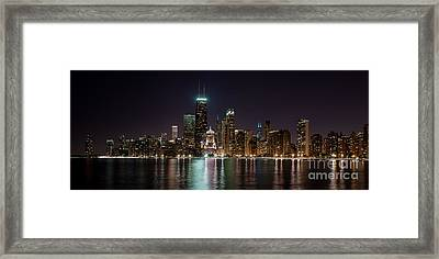 Chicago North Lakeshore Drive  Framed Print by Frank  Cramer