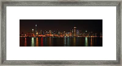Chicago Panoramic Framed Print