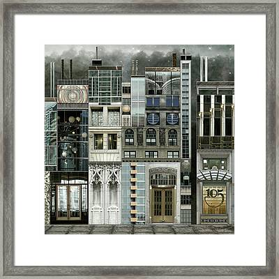 Chicago Reconstruction 1 Framed Print