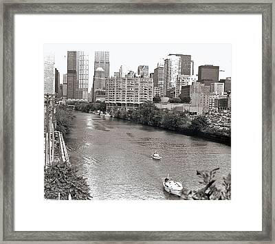 Chicago River Framed Print by Eric Belford