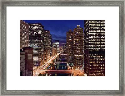 Chicago River Framed Print by Patrice Bilesimo