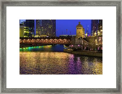 Chicago River Ver2 Framed Print