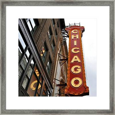 Chicago Framed Print by Sheryl Thomas
