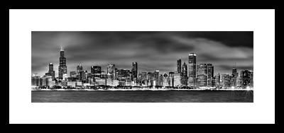 City Scene Framed Prints