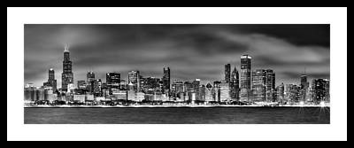 Lake Michigan Framed Prints