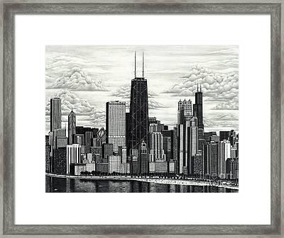 I Love Chicago Volume 1 Framed Print