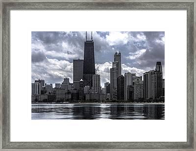Chicago Skyline Ver3 Framed Print