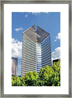 Framed Print featuring the painting Chicago Smurfit-stone Building by Christopher Arndt