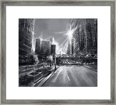 Chicago Street 4 Framed Print